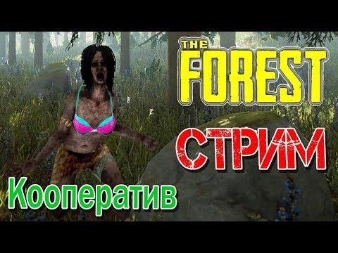 Стрим The Forest - кооператив - Новое начало (часть 1)