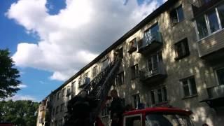 Тверь. Пожар в пятиэтажке(, 2015-06-18T21:28:03.000Z)