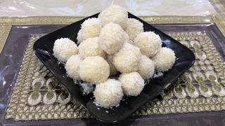 Ramzan Special Nariyal Ke Laddu | नारियल के लड्डू  | Coconut Ladoo Made By Seema Shaikh