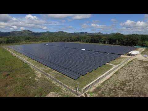 The Biggest Project with HIT Solar Panels in Latin America