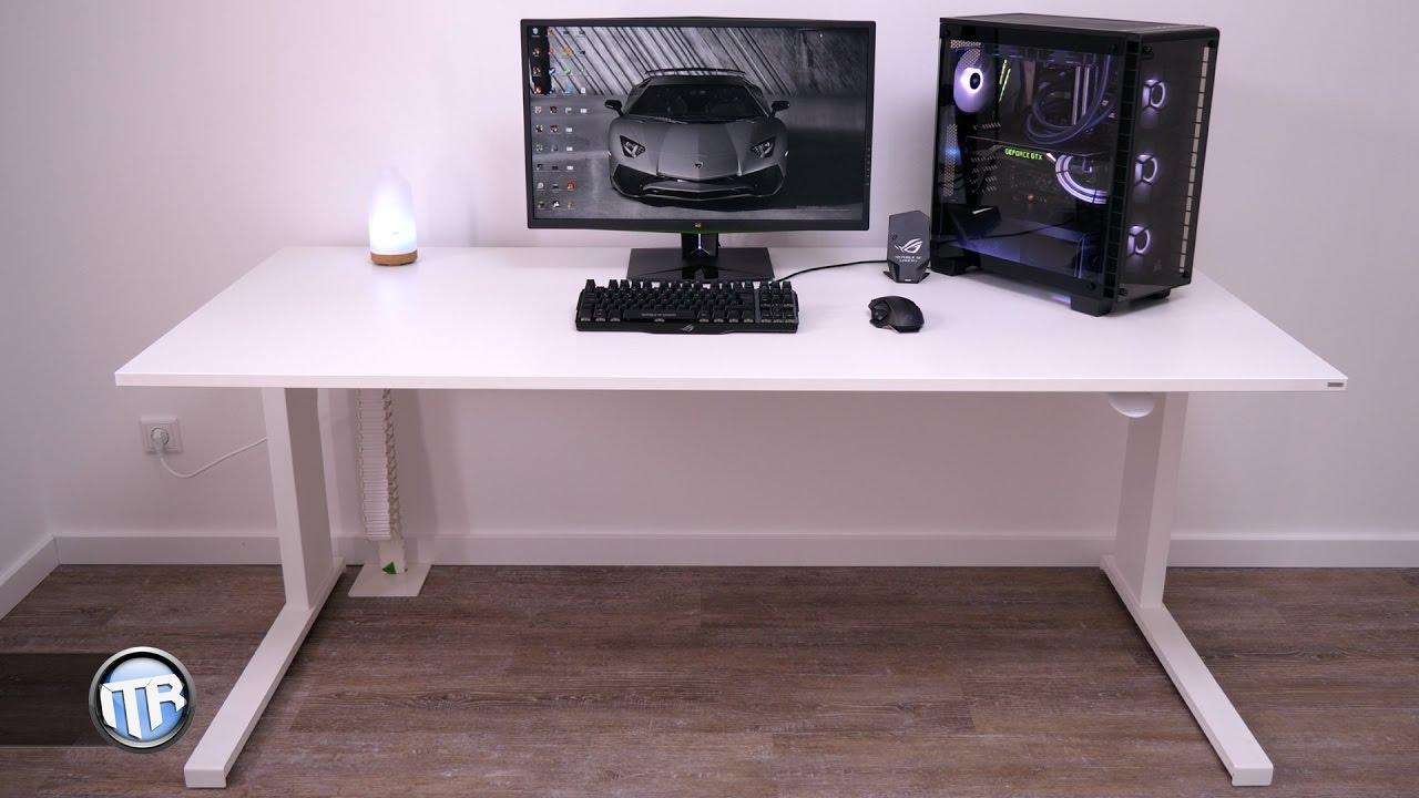 Höhenverstellbarer Schreibtisch - Ergonomisch, schnell, stabil ...