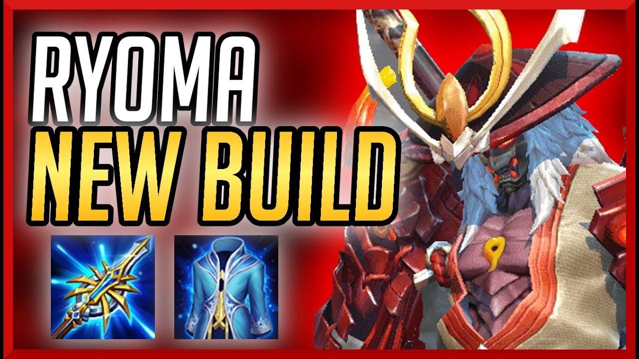 Aov Ryoma Thailand Meta Build Clean Arena Of Valor  Ed E C Ed   Ec A A Ed  B Rov Lien Quan Mobile Gameplay