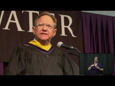 Commencement Spring 2016 Quint Studer - YouTube