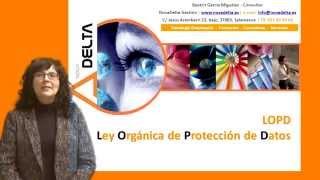 LOPD. Ley Protección de Datos. Formacion