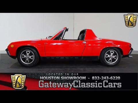 1970 Porsche 914 Gateway Classic Cars #949 Houston Showroom