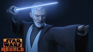 Star Wars Rebels: Mid Season 3 Trailer Obi Wan Kei Vs Maul