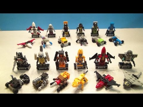 KRE-O MICROCHANGERS SERIES 3 FULL COLLECTION KREON TRANSFORMERS TOY REVIEW BY MITCH SANTONA
