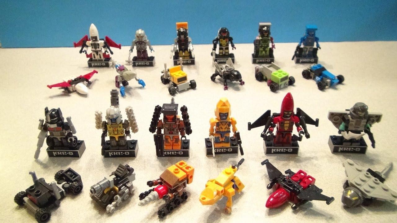 Kre O Microchangers Series 3 Full Collection Kreon