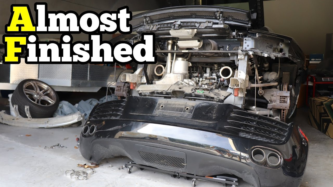 Getting my Salvage Audi R8 Ready for it's Rebuild Inspection! Here's what's necessary
