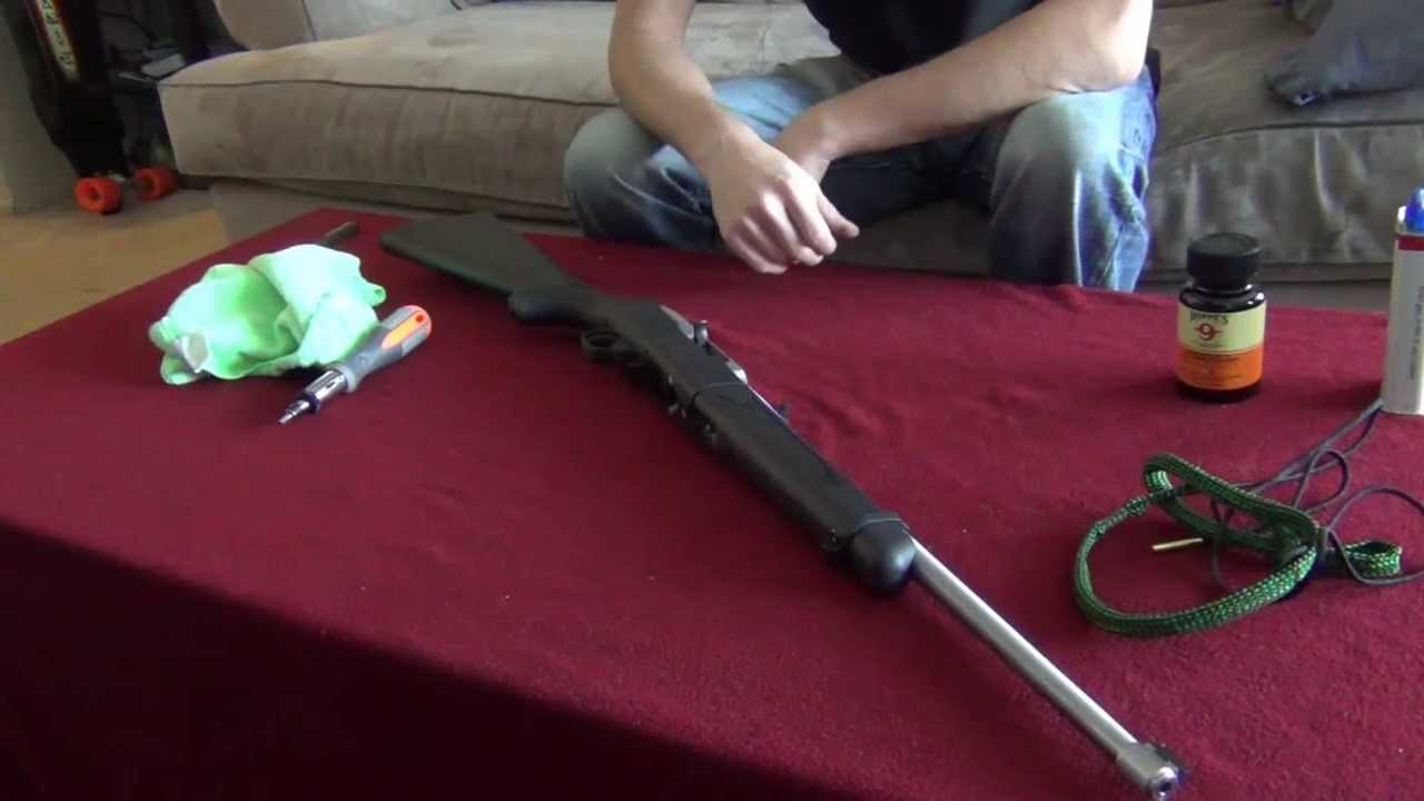 Ruger 10 22 Takedown Cleaning Turtorial You