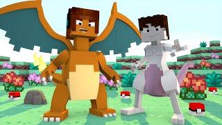 Minecraft : VIREI UM POKÉMON( Fuja da TNT Minecraft )