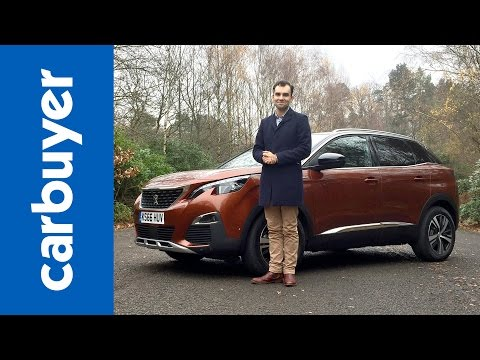 peugeot 3008 2017 suv i-cockpit infotainment and interior review