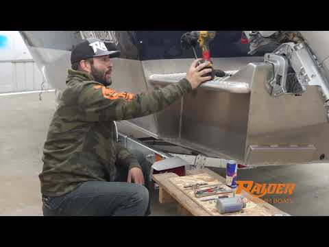Aluminum Boat Sacraficial Anode Replacement | Raider Boats