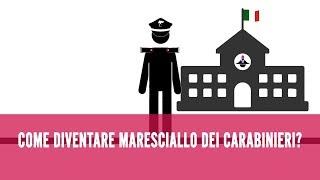 Come diventare Maresciallo Carabinieri