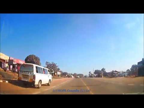 Gayaza to Mukono via Kayunga road