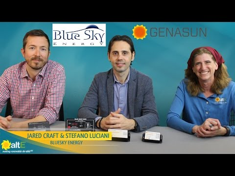 Blue Sky Energy Solar Charge Controller Overview