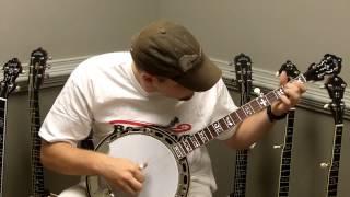 banjo com video demo of a new huber vrb 75 5 string banjo