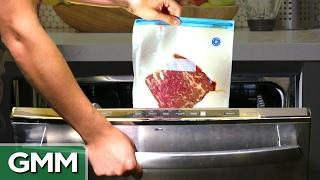 Download Cooking a Steak in a Dishwasher Mp3 and Videos
