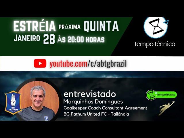 ABTG - PROGRAMA TEMPO TÉCNICO - Toda QUINTA às 20:00h - youtube.com/c/abtgbrazil