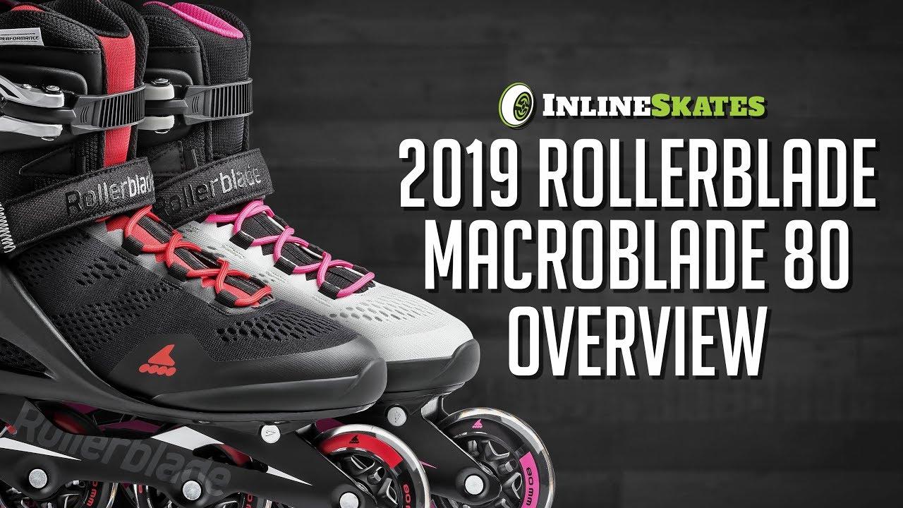 7bc0800e06b 2019 Rollerblade Macroblade 80 Men's and Women's Inline Skate Overview by  InlineSkatesDotCom