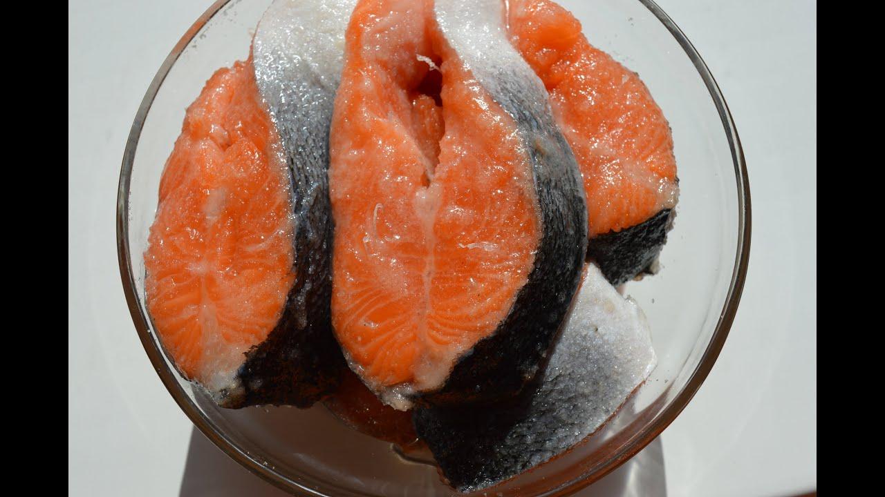 видео засолка красной рыбы в домашних условиях рецепт