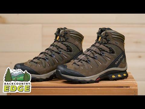 1d911139a26 Salomon Men's Quest 4D 3 GTX Backpacking Boot - YouTube