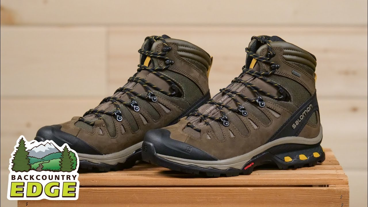 c1e096ee7f0 Salomon Men's Quest 4D 3 GTX Backpacking Boot - YouTube
