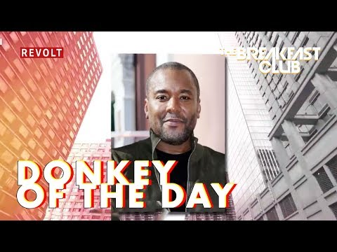 Lee Daniels  Donkey of the Day