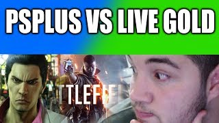 Playstation Plus vs Xbox Live Gold Novembro 2018