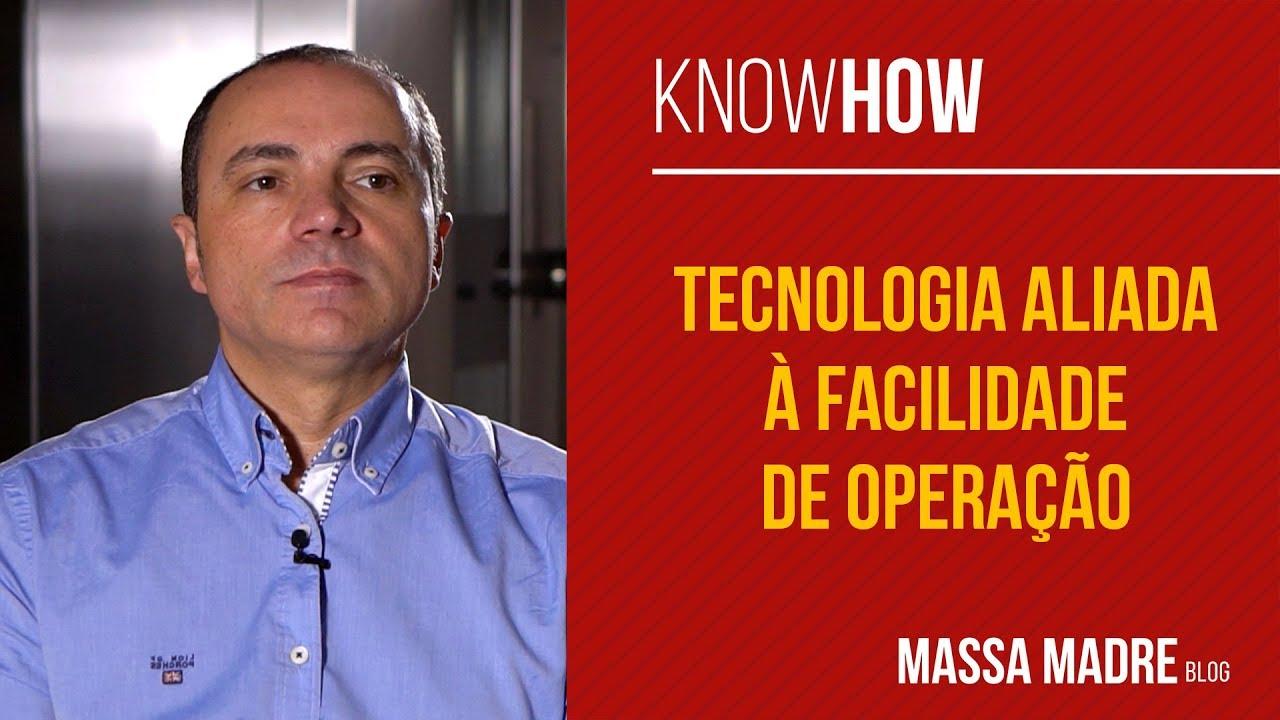Tecnologia: facilidade de operação