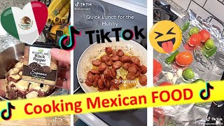 Cooking mexican food tiktok video2020  with recipe