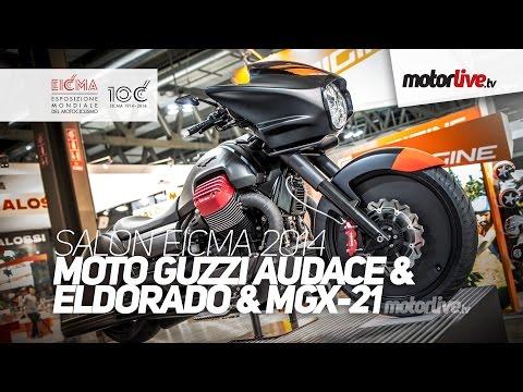 NEW 2015 | SALON MILAN EICMA | MOTO GUZZI AUDACE & ELDORADO