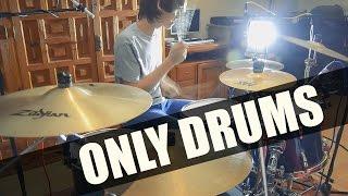 Only drums version. DEAD OR LIE - 黒崎真音 (Maon Kurosaki) feat. TR...