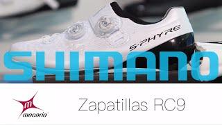 Os presentamos: Zapatillas Shimano RC9 S-Phyre