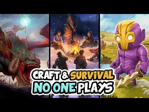 """🔨 Top Ten """"Survival Crafting Games"""" That No One Plays 