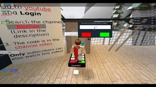 Ski resort on roblox the code for the youtube board OLD CODE