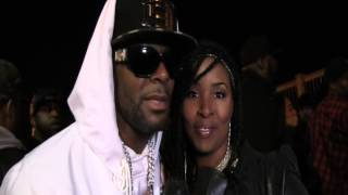 R.Kelly singing happy birthday with host Angela Dobbs for The Paradox Show! Turn Up!