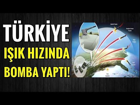 Türkiye Işık Hızında Bomba Yaptı!