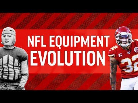 NFL Equipment Evolution
