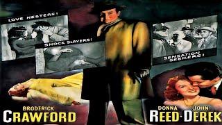حصرياً دراما الجريمة (صحيفة الفضائح - 1952) لـ برودريك كروفورد دونا ريد ᴴᴰ
