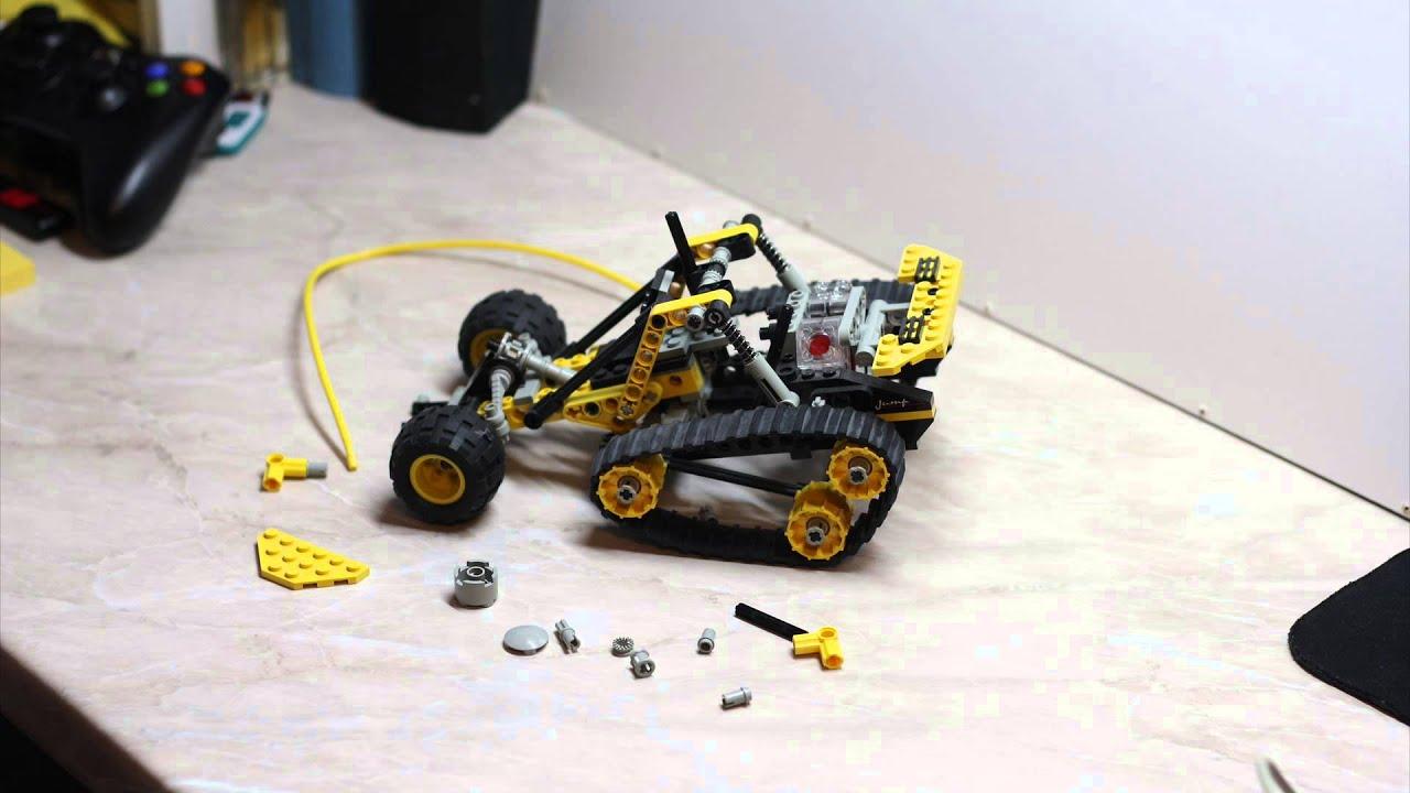Stop Motion: Lego Technic #8414-1: Mountain Rambler