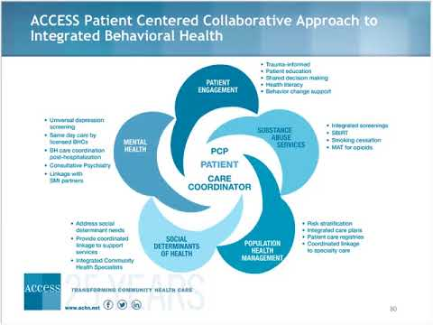 HRSA's Grantee Example Of Integrated Care – Access Community Health Network, By Mr. Bragg