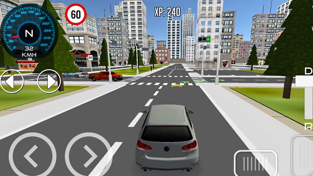 Driving School 3D - Driving in the City   Android GamePlay Mobile Game for  Phones