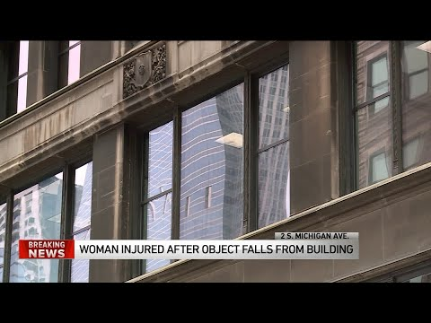 Mick Lee - Chicago Woman Injured After Metal Fell on Her in the Loop