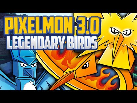 Minecraft Pixelmon 3.0 Update Legendary Birds Guide, Pixelmon 3.0 Shrine/Orb Method