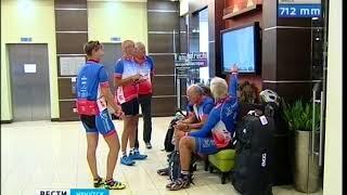 Смотреть видео Участники международного велопробега Санкт Петербург   Владивосток приехали в Иркутск онлайн