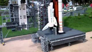LEGOLAND FLORIDA SPACE SHUTTLE LAUNCH LEGO CITY OPENING DAY