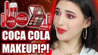 TESTING COCA COLA MAKEUP... OMG!