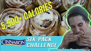 Cinnabon Six Pack Challenge (5,500+ Calories)