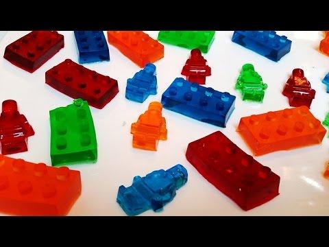 778a5e0e4961 Como hacer gomitas dulces de LEGO (Gomitas de Gelatina)